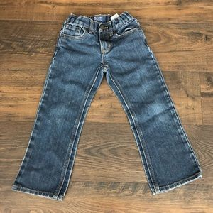 Old Navy boys loose/boot cut jeans